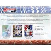 2020 Bowman's Best Baseball Hobby 8-Box Case (Presell)
