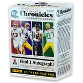 2020 Panini Chronicles Draft Picks Football 4-Pack Blaster Box