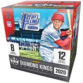 2020 Panini Diamond Kings 1st Off The Line Baseball Hobby Box