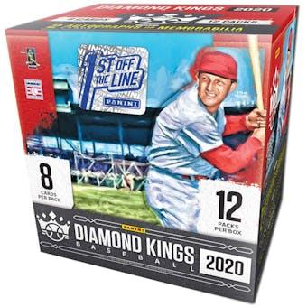 2020 Panini Diamond Kings Baseball 1st Off The Line FOTL Hobby Box