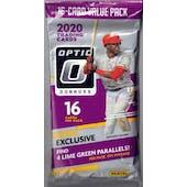 2020 Panini Donruss Optic Baseball Jumbo Fat Pack