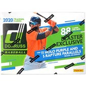 2020 Panini Donruss Baseball 11-Pack Blaster Box