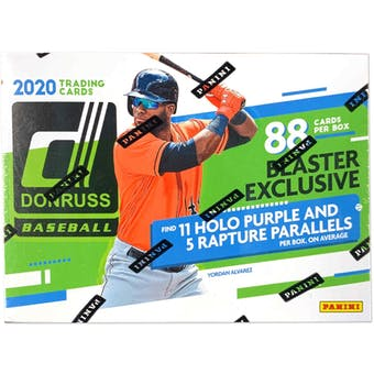 2020 Panini Donruss Baseball 11-Pack Blaster Box