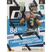 2020 Panini Donruss Football 11-Pack Blaster Box (Blue)