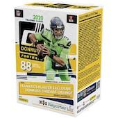 2020 Panini Donruss Football Fanatics 11-Pack Blaster Box