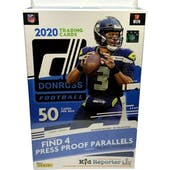 2020 Panini Donruss Football Hanger Box (Blue)