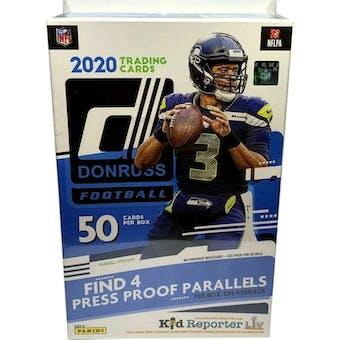 2020 Panini Donruss Football Hanger Box (Blue)
