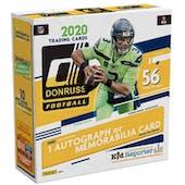 2020 Panini Donruss Football Fanatics 56-Card Mega Box