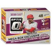 2020 Panini Donruss Optic Baseball 48-Card Mega Box