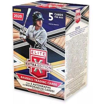2020 Panini Elite Extra Edition Baseball Blaster Box