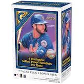 2020 Topps Gallery Baseball 7-Pack Blaster Box