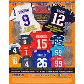 2020 TriStar Hidden Treasures Game Day Greats Football Hobby 5-Box Case (Presell)