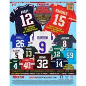 2020 TriStar Game Day Greats Autographed Jersey Series 3 Football Hobby 5-Box Case