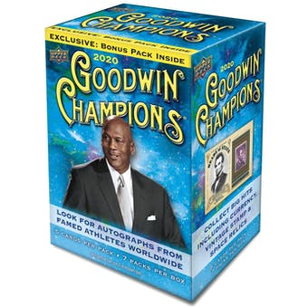 2020 Upper Deck Goodwin Champions 7-Pack Blaster Box