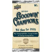 2020 Upper Deck Goodwin Champions Hobby Pack