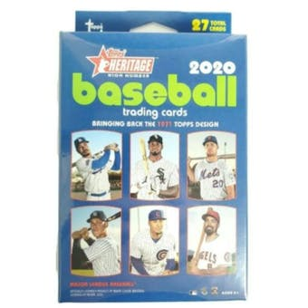 2020 Topps Heritage High Number Baseball Hanger Box