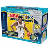 2019/20 Panini Hoops Premium Stock Basketball Mega Box (80 Cards) (Red Prizms)