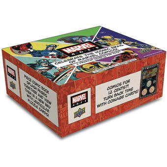 Marvel Ages Trading Cards Hobby Box (Upper Deck 2020) (Presell)