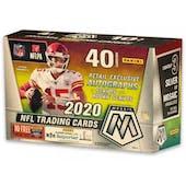 2020 Panini Mosaic Football 10-Pack Mega Box (Target)