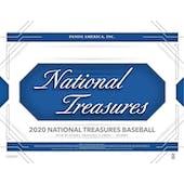 2020 Panini National Treasures Baseball Hobby 4-Box Case (Presell)