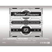 2020 Panini National Treasures Collegiate Football Hobby 4-Box Case (Presell)