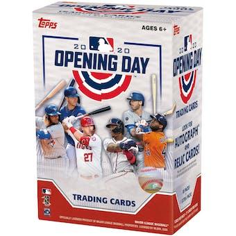 2020 Topps Opening Day Baseball 11-Pack Blaster Box