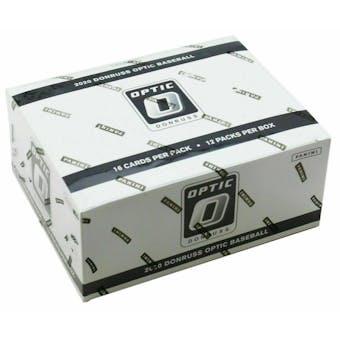2020 Panini Donruss Optic Baseball Jumbo Fat Pack Box (12 Ct.)