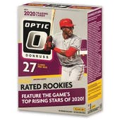 2020 Panini Donruss Optic Baseball 7-Pack Blaster Box