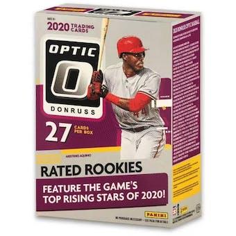 2020 Panini Donruss Optic Baseball 7-Pack Blaster Box
