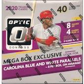 2020 Panini Donruss Optic Baseball 40-Card Mega Box