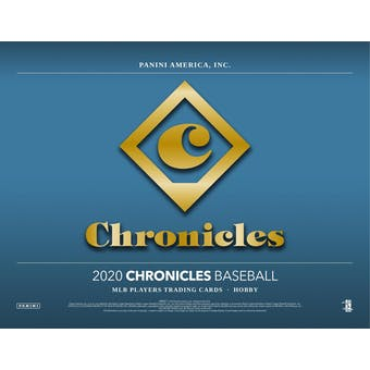 2020 Panini Chronicles Baseball 4-Box- DACW Live 6 Spot Random Division Break #1