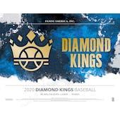 2020 Panini Diamond Kings Baseball Hobby 24-Box Case (Presell)