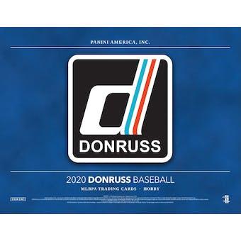 2020 Panini Donruss Baseball Hobby Box (Presell)