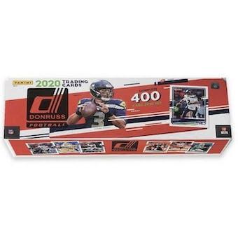 2020 Panini Donruss Football Factory Set (Box)
