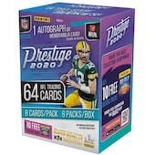 2020 Panini Prestige Football 8-Pack Blaster Box