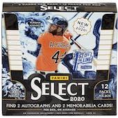 2020 Panini Select 1st Off The Line Baseball Hobby Box
