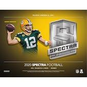 2020 Panini Spectra Football 4-Box- DACW Live 30 Spot Random Team Break #1