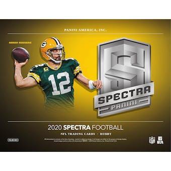 2020 Panini Spectra Football 4-Box- DACW Live 8 Spot Random Division Break #1