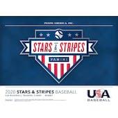 2020 Panini Stars & Stripes Baseball Hobby 20-Box Case (Presell)