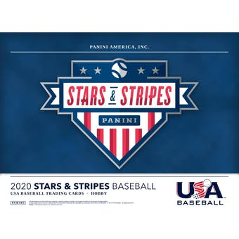2020 Panini Stars & Stripes Baseball Hobby Box (Presell)