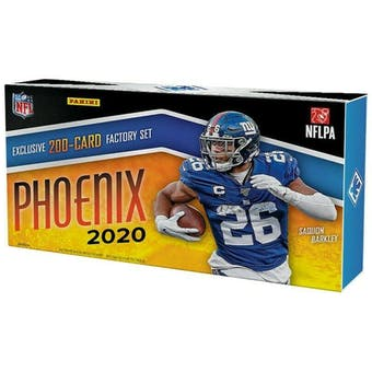 2020 Panini Phoenix Football Factory Set (Box)
