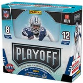 2020 Panini Playoff Football Hobby 20-Box Case