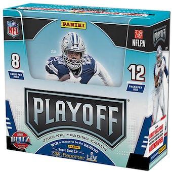 2020 Panini Playoff Football Hobby 20-Box Case