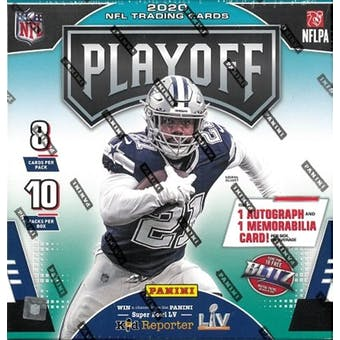 2020 Panini Playoff Football Mega Box