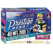 2020 Panini Prestige Football Mega Box