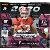 2020 Panini Prizm Draft Picks Football Hobby Hybrid 20-Box Case