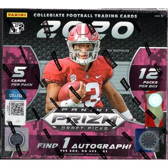 2020 Panini Prizm Draft Picks Football Hobby Hybrid Box