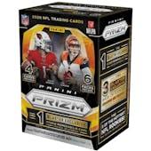 2020 Panini Prizm Football Fanatics 6-Pack Blaster Box (Orange Ice Prizms)