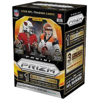 2020 Panini Prizm Football Fanatics 6-Pack Blaster Box (Orange Ice Prizms)