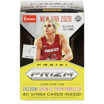 2020 Panini Prizm WNBA Basketball Fanatics Mega Box (40 Cards)